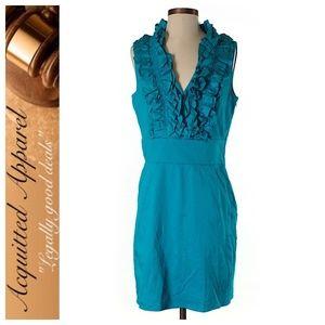 Ted Baker London | Ruffle Neck Sheath Dress